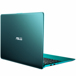 Ultrabook ASUS VivoBook S15 S530UA-BQ047, Intel Core i5-8250U, 15.6inch, RAM 8GB, SSD 256GB, Intel UHD Graphics 620, FreeDos, Firmament Green