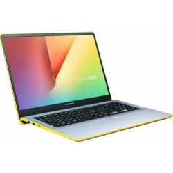 Ultrabook Asus VivoBook S15 S530UA-BQ056, Intel Core i5-8250U, 15.6inch, RAM 8GB, SSD 256GB, Intel UHD Graphics 620, Endless OS, Silver-Yellow