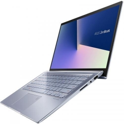 Ultrabook Asus ZenBook 14 UX431FA-AM130, Intel Core i5-10210U, 14inch, RAM 8GB, SSD 512GB, Intel UHD Graphics, No Os, Utopia Blue