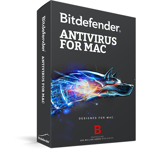 Bitdefender Antivirus for Mac 1 user/1 an, Base Electronic
