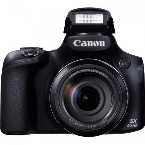 Camera foto Bridge Canon PowerShot SX60 HS, 16MP, Black