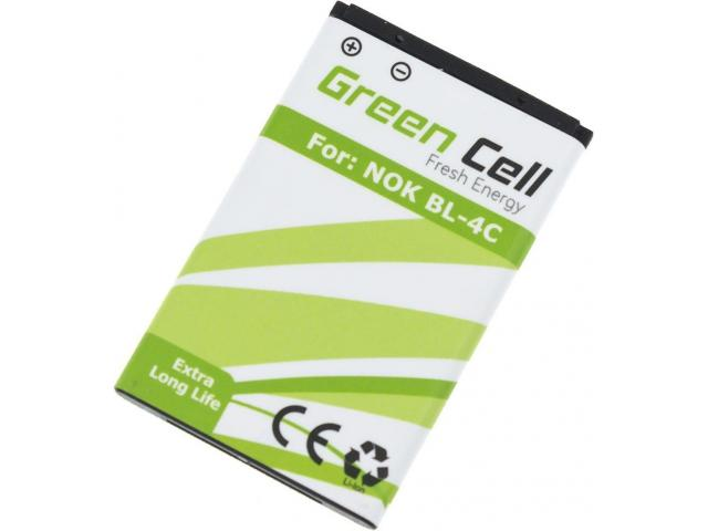 Green Cell Smartphone Battery for Nokia 5100 6100 6103 6300 7200