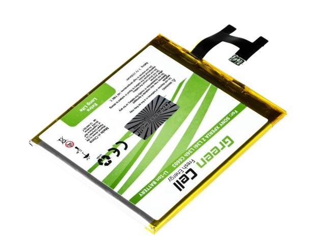 Green Cell Smartphone Battery for Sony Xperia Z C6602 L36H L36i