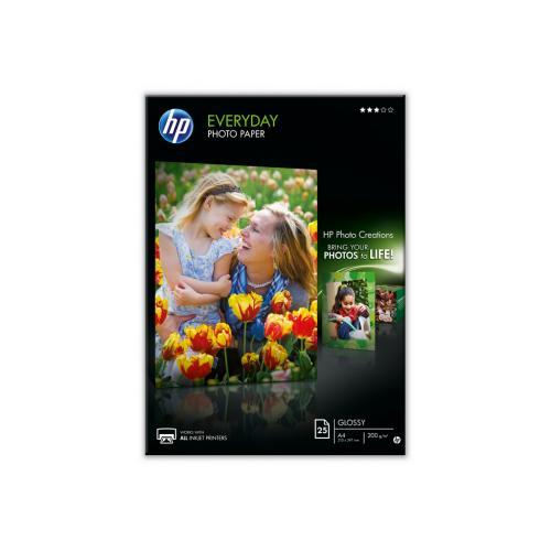 HP Everyday Semi-gloss Photo Paper-25 sht/A4