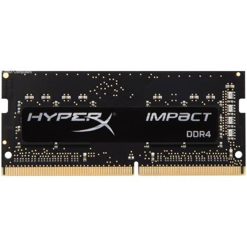 Memorie SODIMM Kingston HyperX Impact, 16GB, 2400MHz, DDR4 CL14